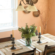Traditional Dining Room by Design for Conscious Living®