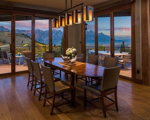 Rustic Dining Room Design Ideas Remodels & Photos