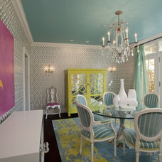 Traditional Dining Room by Jacobson Interior Design