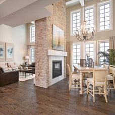 Transitional Dining Room by Kimberley Homes