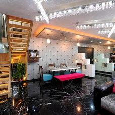 Contemporary Dining Room by ajay_sharma