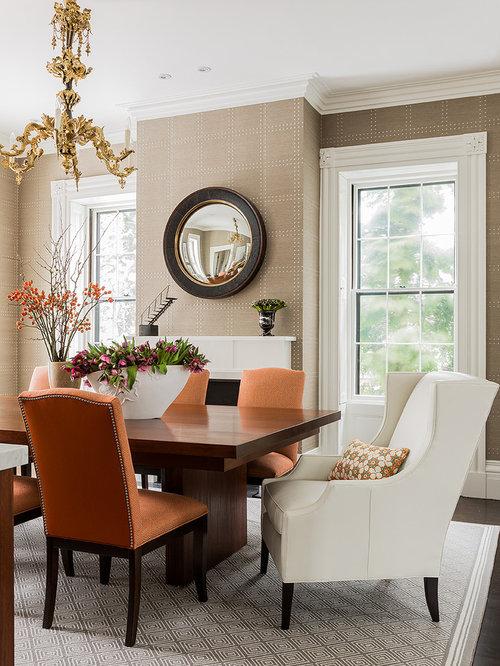 Orange Dining Chair | Houzz