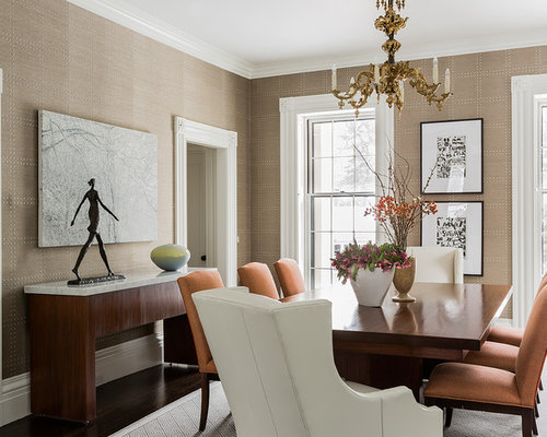 Houzz Wallpaper Dining Room: Phillip Jeffries
