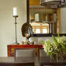 Eclectic Dining Room by jamesthomas, LLC