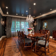 Traditional Dining Room by jamesthomas, LLC