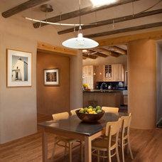 Contemporary Dining Room by Zero E Design