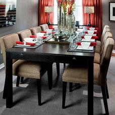 Modern Dining Room by Jane Lockhart Interior Design