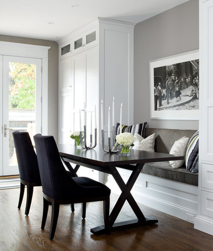 Contemporary Dining Room by Jane Lockhart Interior Design