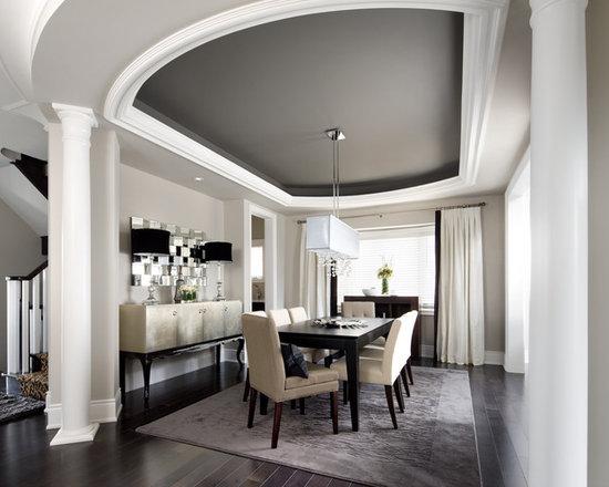 Gray Dining Room Design Ideas Remodels Photos