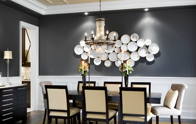 Color Feast: When to Use Gray in the Dining Room