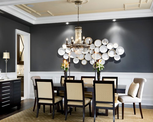 inspiration for a timeless enclosed dining room remodel in toronto