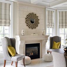 Traditional Dining Room by Jane Lockhart Interior Design