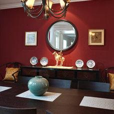 Asian Dining Room by Haitani Design