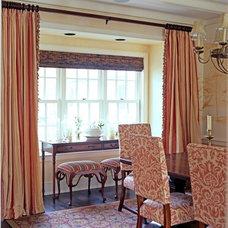 Traditional Dining Room by JBM DESIGNS LLC