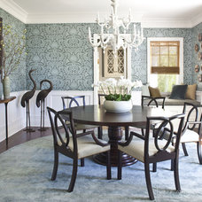 Contemporary Dining Room by Jeff Andrews Design