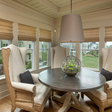 Transitional Dining Room by Romanelli & Hughes Custom Home Builders
