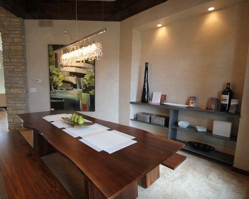 Contemporary Cedar Rapids Dining Room Design Ideas