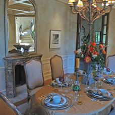 Traditional Dining Room by Jessica Hall Associates