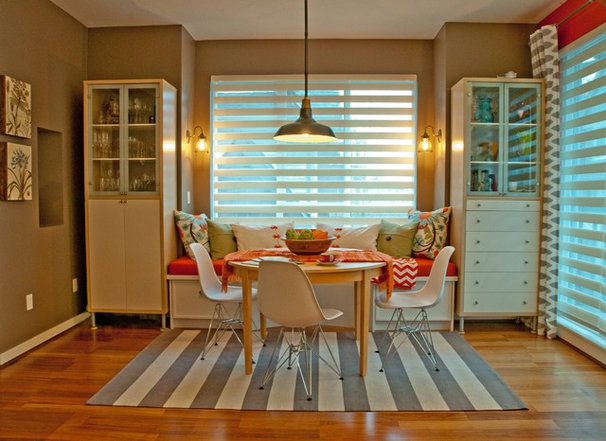 Eclectic Kitchen by Jil Sonia Interiors