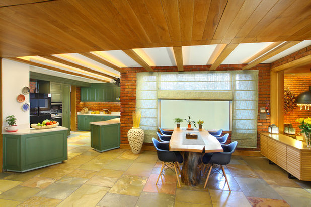 Contemporary Dining Room by Group DCA
