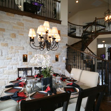 Traditional Dining Room by John Lively & Associates