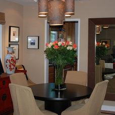Asian Dining Room by Joani Stewart-Georgi - Montana Ave. Interiors