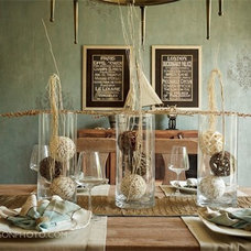 Eclectic Dining Room by JoAnn Romano