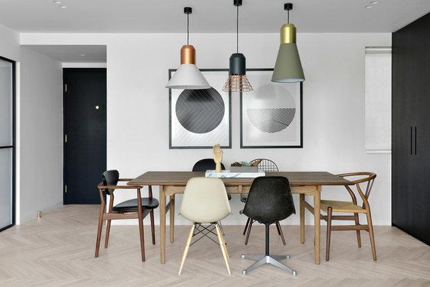 Stolar Uterum : Skapa nytt liv i hemmet med udda stolar kring bordet