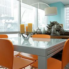Modern Dining Room by Jetset Designs