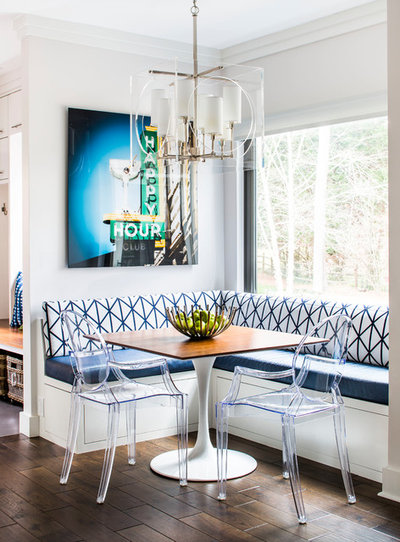 Contemporary Dining Room by Yellow Bungalow