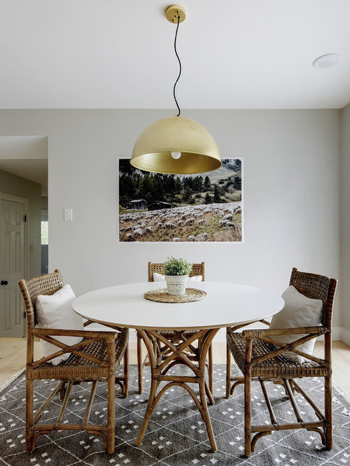 Good Dining Room Ideas Contemporary Part - 7: Example Of A Trendy Dining Room Design In Austin