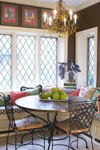 contemporary dining room by Joni Spear Interior Design