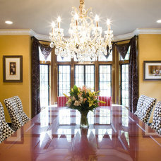 Traditional Dining Room by Joni Spear Interior Design