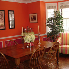 Eclectic Dining Room by Joni Spear Interior Design