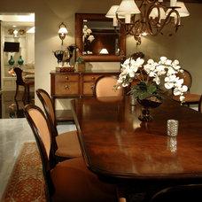 Traditional Dining Room by Joyce Shore, FASID, CAPS, LEED AP ID-C