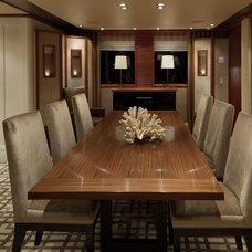 Contemporary Dining Room by Jonathan Quinn Barnett Ltd