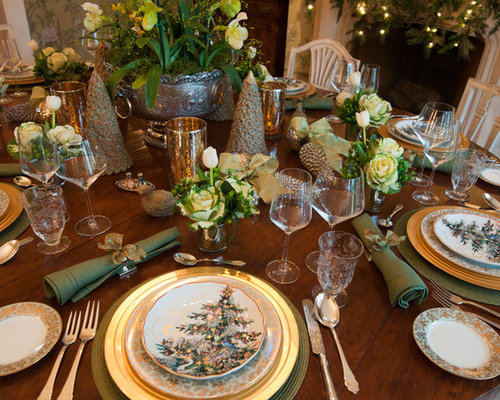 Best Beautiful Table Settings Design Ideas & Remodel Pictures | Houzz