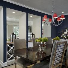 Contemporary Dining Room by GR Home/Graciela Rutkowski Interiors
