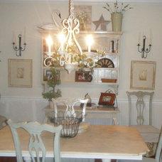 Traditional Dining Room Judith Ramella