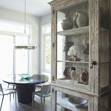 Eclectic Dining Room by Buckingham Interiors + Design LLC