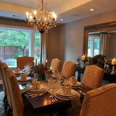 Traditional Dining Room Junior League Holiday Home Tour
