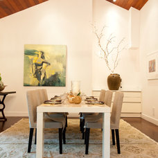 Contemporary Dining Room Junior League Holiday Home Tour