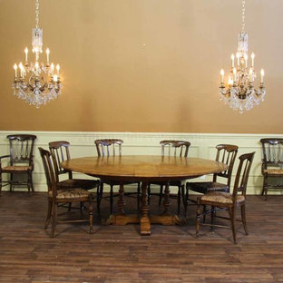 Extra Large Round Dining Tables Houzz