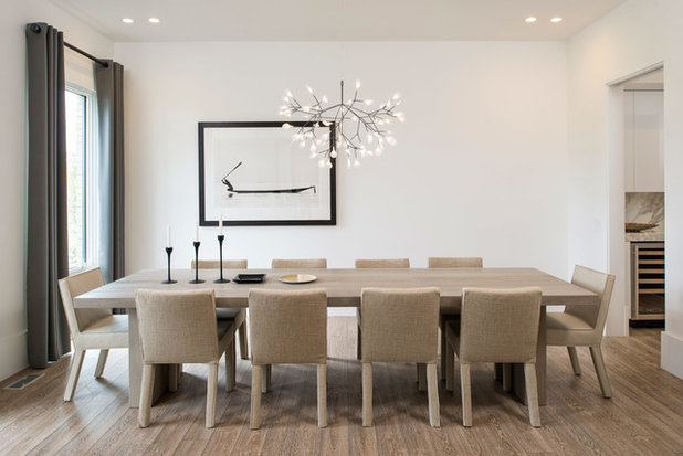 Scandinavian Dining Room by Maxine Schnitzer Photography