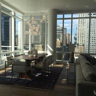 Kadur Custom Blown Glass Dining Room Chandelier | Modern Custom Light