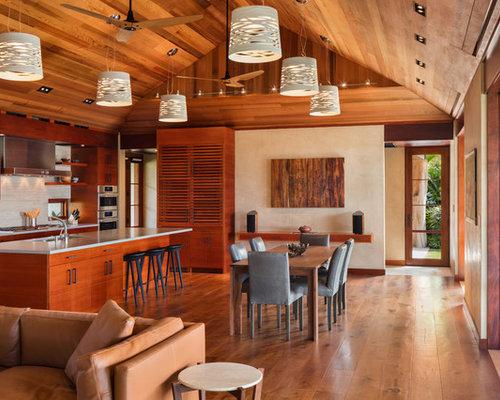 tropical dining room | Tropical Dining Room Design Ideas, Remodels & Photos