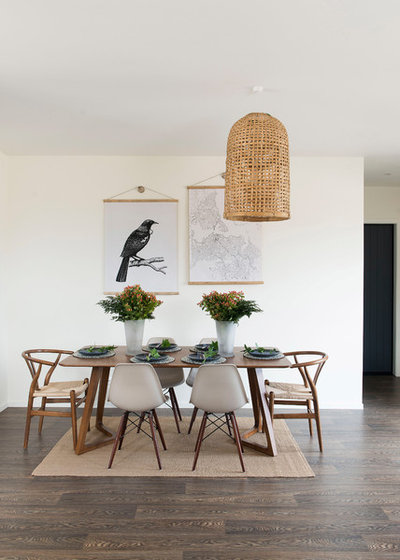 Beach Style Dining Room by Pearson + Projects