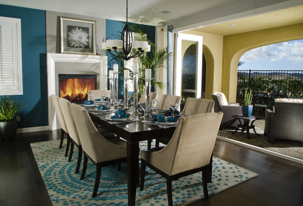 Contemporary Dining Room by Possibilities for Design Inc.