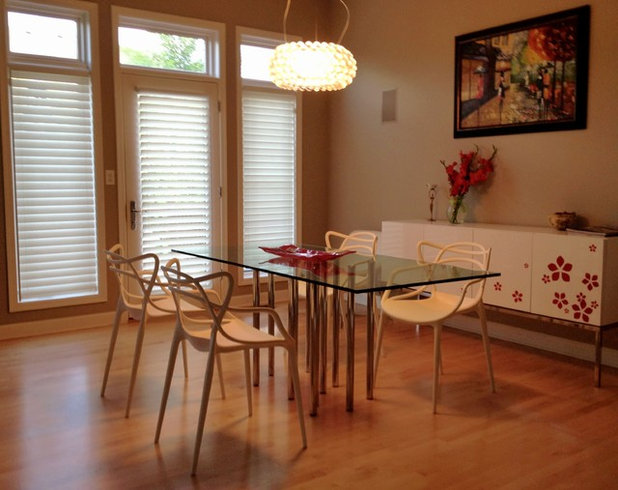 Contemporary Dining Room by IQMatics - Moderne Living