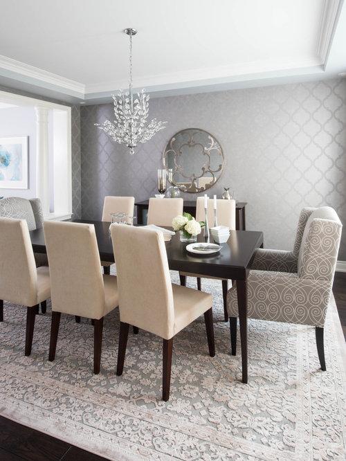 Transitional Toronto Dining Room Design Ideas Remodels